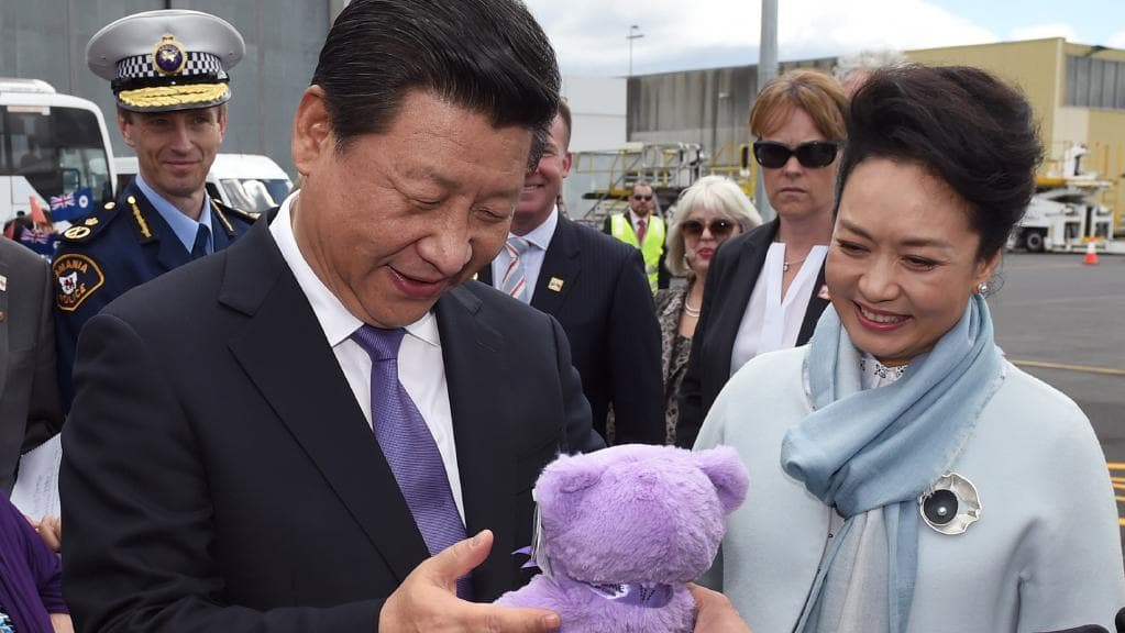 bobbi the bear given to chinese president