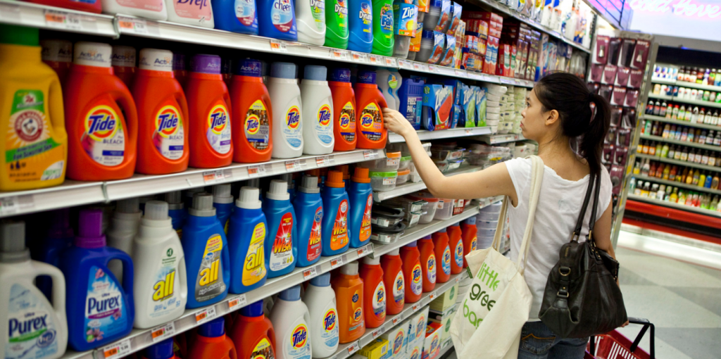 proctor and gamble is leading in China